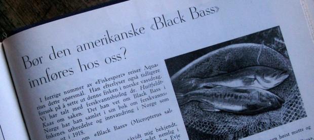 Fra bladet Fiskesport i 1937