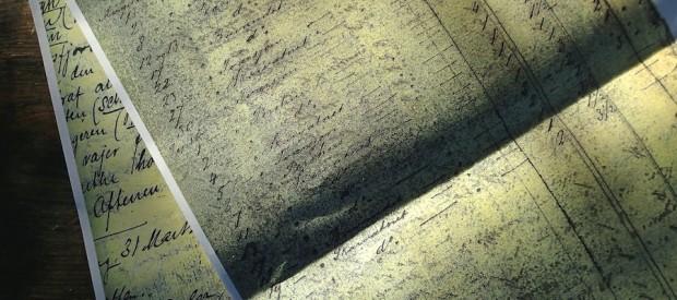 Fangstrapport i dagbøkene på Holoa på slutten av 1870-årene